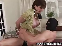 Lady Sonia and slave